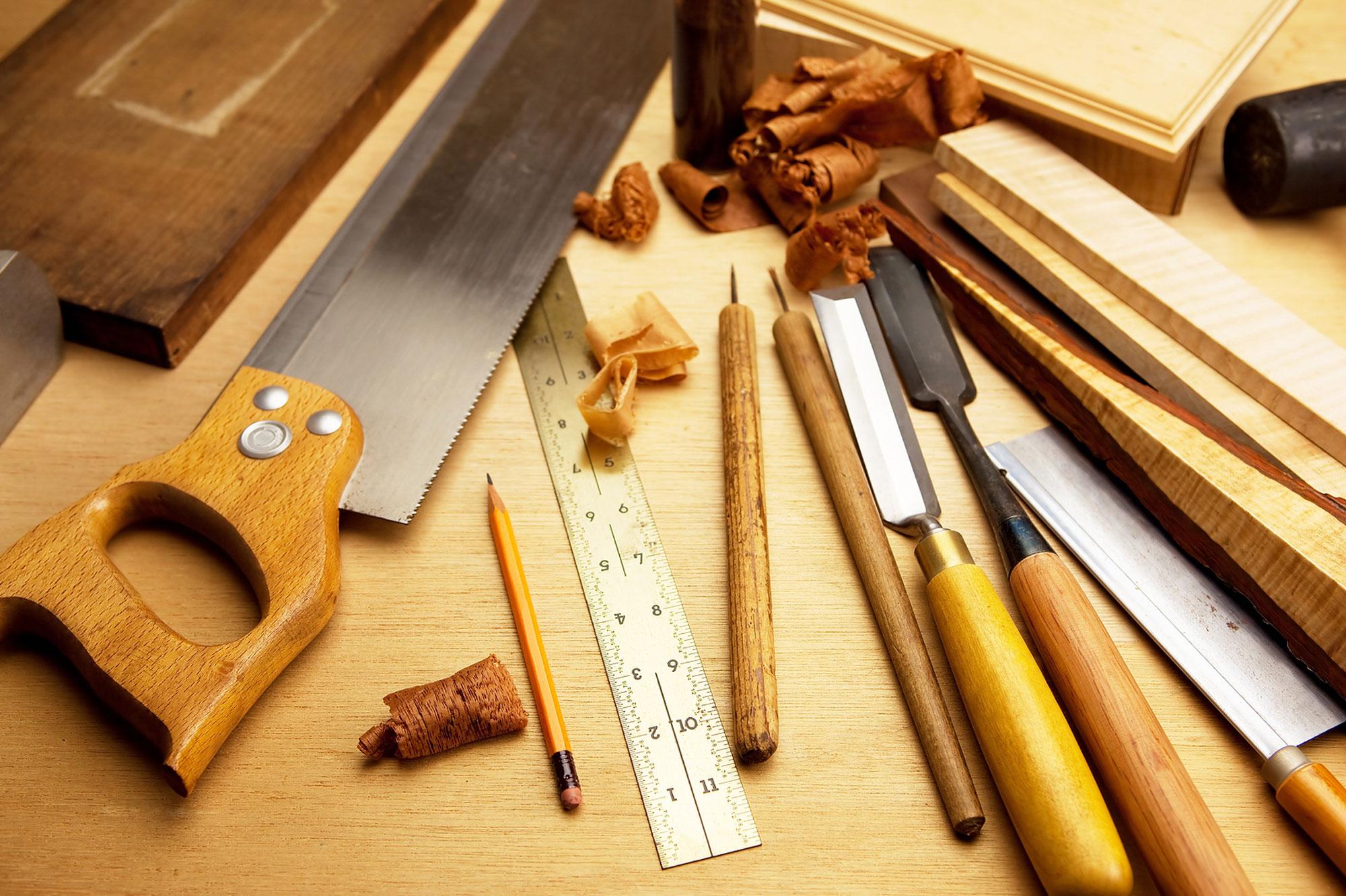 Работа по дереву своими руками инструмент